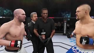 Dana White vs. Chuck Liddell (EA Sports UFC 3) - CPU vs. CPU