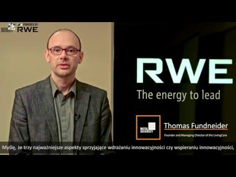 Trzech Najważniejszych Aspektach Wdrażania Innowacji W Firmie, Thomas Fundneider (LivingCore)