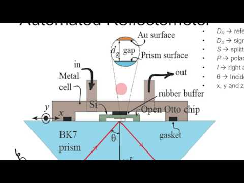 Open Otto Chip as an SPR Pressure Transducer