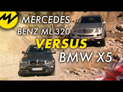 Mercedes Benz ML 320 vs BMW X5