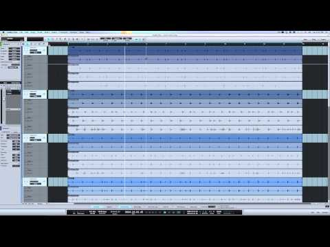 Presonus Studio One V2.5 Multi-Track Drum Comping Made Easy