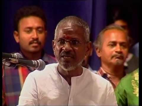 Isai Gnani Ilayaraja About MSV in Ganesh Kirupa Best Light Music Orchestra in Chennai.mpg