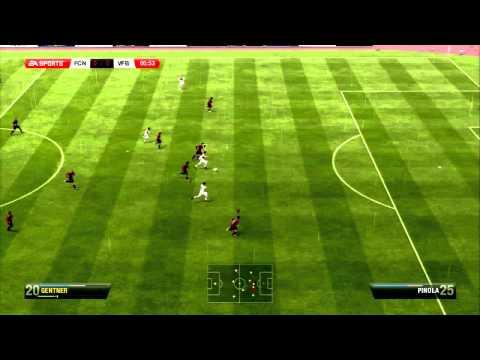 HD Fußball Bundesliga 6. Spieltag 1. FC Nürnberg vs. VfB Stuttgart 2012/2013
