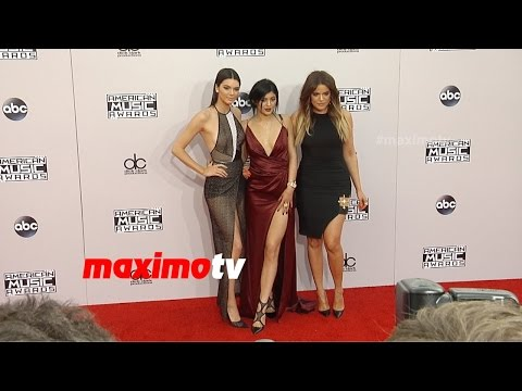 Kendall, Kylie, Khloe Kardashian | 2014 American Music Awards | Red Carpet Arrivals