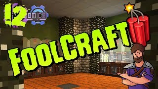 FoolCraft 3 |#12 | Cloches Cloches! 😂 Refined Auto Crafting! | Modded Minecraft 1.12.2 Lets Play
