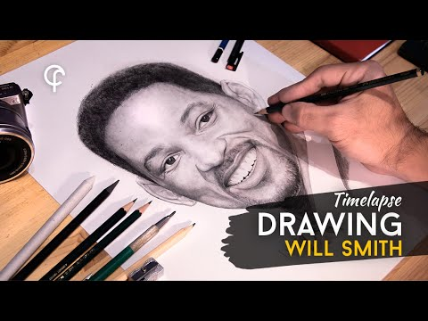 PORTRAIT OF WILL SMITH by FERNANDO OLOMBRADA | OFFICIAL VIDEO