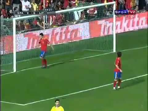 David Villa - worst miss ever seen