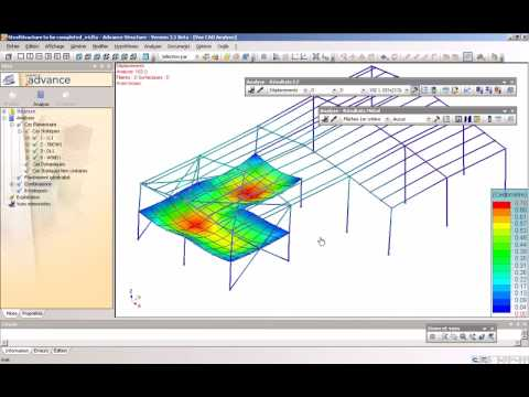Synchronization of Revit Structure with Advance Design