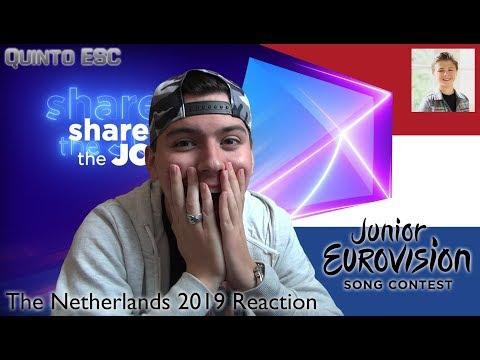 Matheu - Dans Met Jou Reaction - Junior Eurovision 2019 (The Netherlands) - Quinto ESC