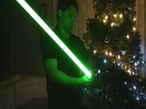 How To Make a Lightsaber - LEDs & Crystal Focus