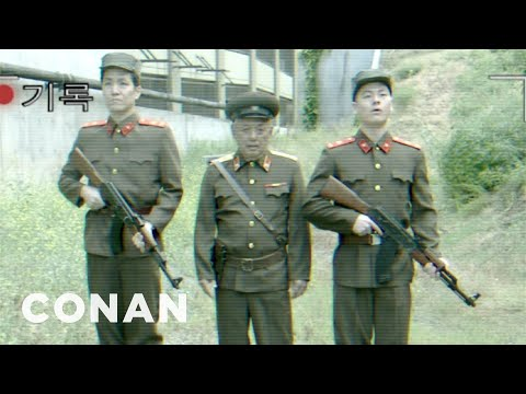 Exclusive North Korean Missile Test Footage - CONAN on TBS