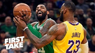 LeBron vs. Kyrie Irving is the best rivalry in the NBA - Stephen A. | First Take
