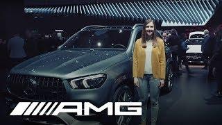 Mercedes-AMG GLE 53 4MATIC+ at Geneva International Motor Show 2019