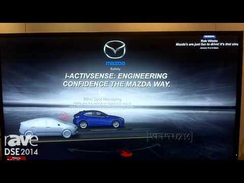 DSE 2014: AccuWeather Exhibits Its Interactive Storyteller App for Mazda