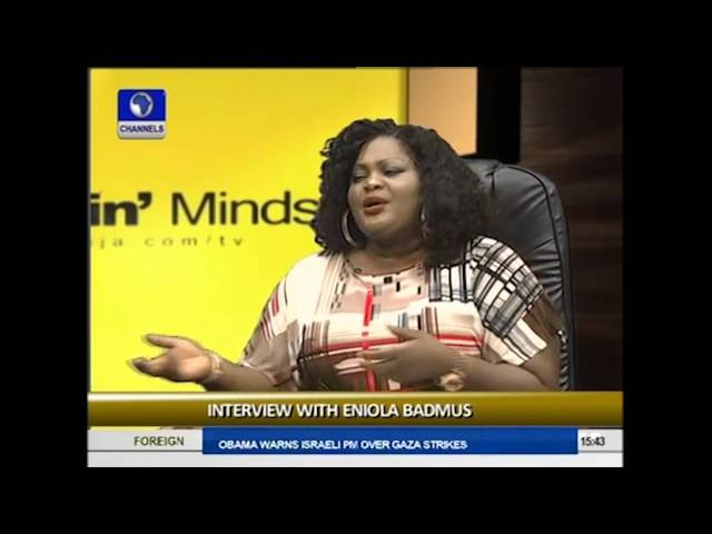 Rubbin' Minds: My Weight Is My Brand -- Eniola Badmus