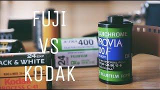 Why I'm Switching from FUJI to KODAK! (Analog Photography)
