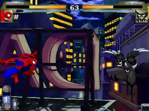 Mugen: Spiderman vs Wolvenom
