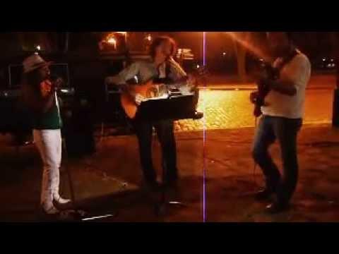 Maravillosa esta noche - Jesús Amaya y Richard Coll... en las calles de Rosario...