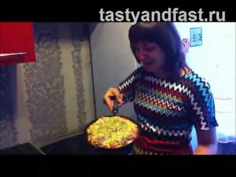 Пицца картофельная