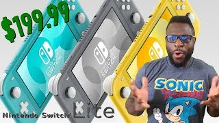 OJ HYPE REACTION!!! - Nintendo Switch LITE Trailer, HUGE WIN for Nintendo + Features/Price!
