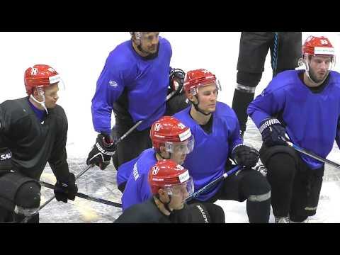 2017 07 07 подготовка ледовой площадки и первые тренировки