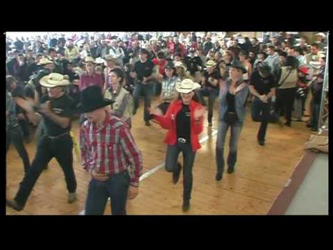 George McAnthony - Italian Line Dance Crowd Video
