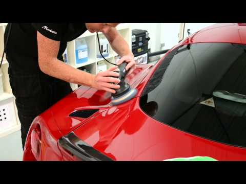 Majestic Detail Alfa Romeo 4C with Modesta glass coating