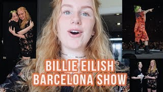 Touring with Billie Eilish | SHOW 9 Barcelona Spain