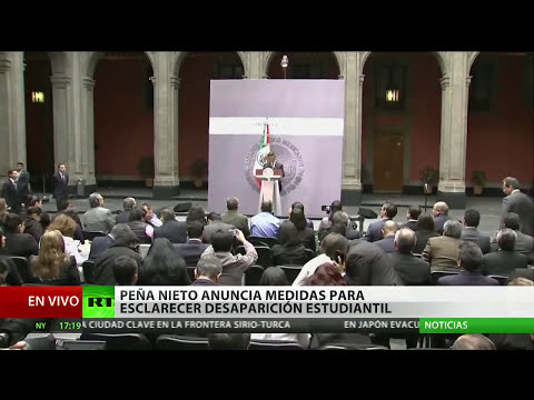 México: Fuerzas federales se despliegan en Iguala, donde desaparecieron 43 estudiantes