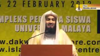 Mufti Menk joke-the cough