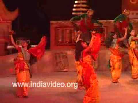 Folk dance from Bodo tribe, Assam