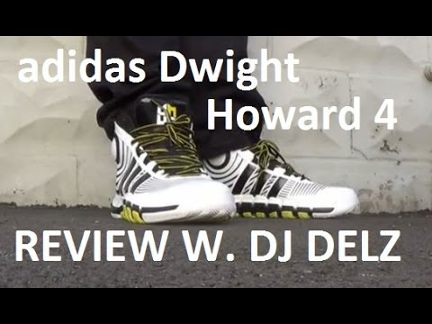 adidas Dwight Howard 4 IV Sneaker Review + On Feet With Delz