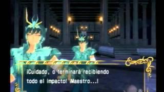 Ps2 Saint Seiya The Hades Walkthrough Extremo Shryu vs Shion 5/15