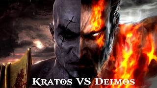 GOW: Kratos VS Deimos (Ghost of Sparta)