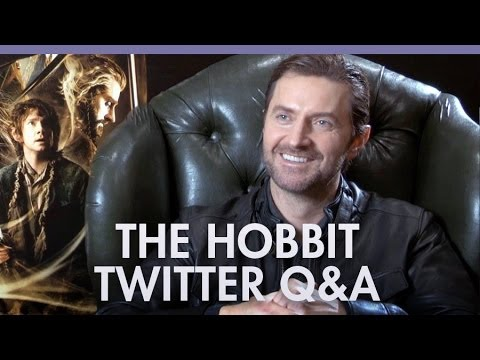Richard Armitage 'The Hobbit' twitter Q&A