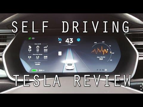 Self Driving Tesla Review!