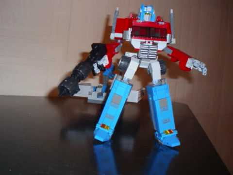 OPTIMUS PRIME (Ver 1). A Lego Transformers Creation