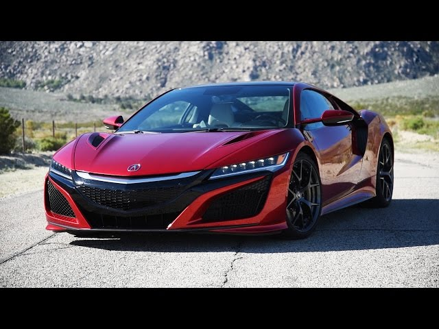 2017 Acura NSX Review - First Drive - YouTube
