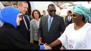 Arrivée de Macky Sall et de Marieme Faye Sall en Turquie