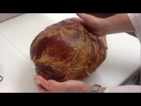 How to Debone a Ham. part 1
