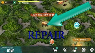 LIVE OR DIE : SURVIVAL |REPAIR RADAR STATION CENTER|ANDROID GAME#54