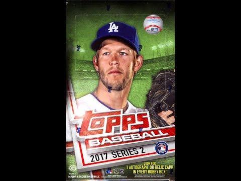 Box Busters: 2017 Topps Series 2 Baseball