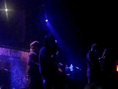 Rose Funeral - God Demise + Left To Rot LIVE in New York City 11-7-09