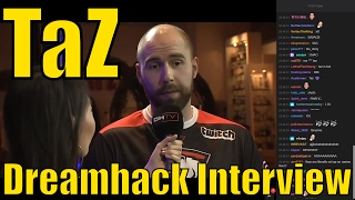 "TaZ DreamHack Interview ""Sorry that handshake was too hard"" @ DreamHack Masters LV 2017"