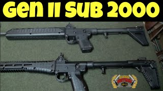 Gen 2 - Kel-Tec Sub 2000 Shooting Review