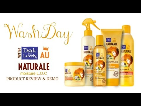 Dark and Lovely Au Naturale Moisture L.O.C. Product Review