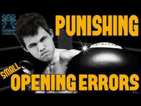 Take the Initiative and punish Opening Errors! - GM Damian Lemos (EMPIRE CHESS)