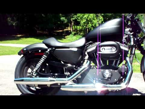 09 Harley Davidson Sportster Iron 883 [HD] Video