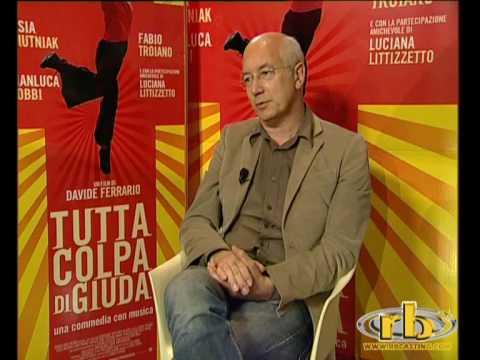 """DAVIDE FERRARIO – intervista (film """"TUTTA COLPA DI GIUDA"""") – WWW.RBCASTING.COM"""