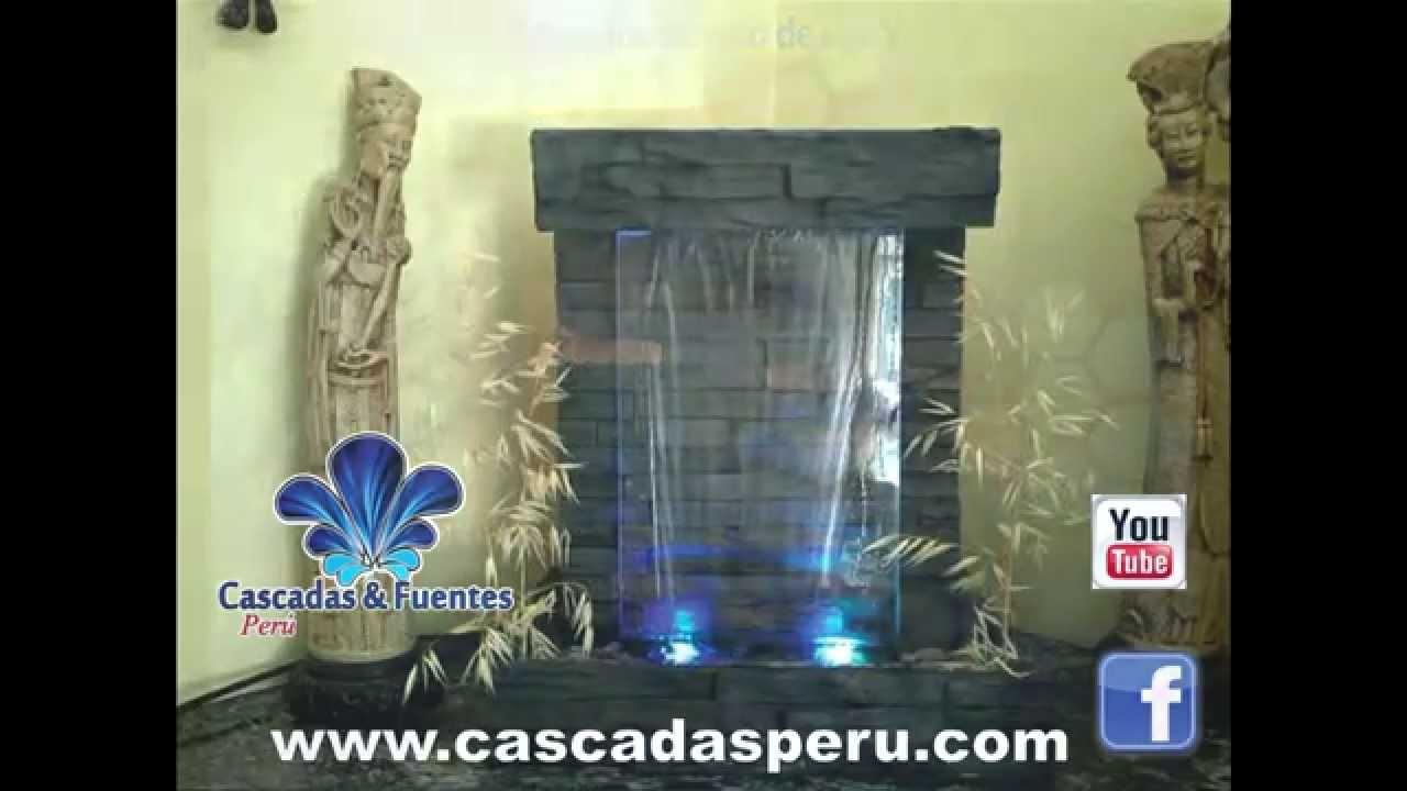 Velo de agua o caidas de agua para interior y exterior de for Cascadas artificiales modernas